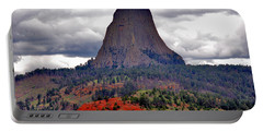 The Devils Tower Wy Portable Battery Charger