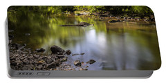 Portable Battery Charger featuring the photograph The Devon River by Jeremy Lavender Photography