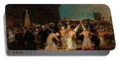 A Procession Of Flagellants Portable Battery Charger