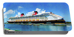 The Disney Dream In Nassau Portable Battery Charger