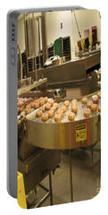 The Doughnut Machine Portable Battery Charger by Carol F Austin