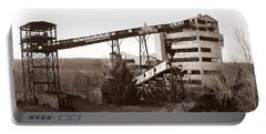 The Dorrance Coal Breaker Wilkes Barre Pennsylvania 1983 Portable Battery Charger