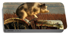 The Dream Of A Pig Portable Battery Charger