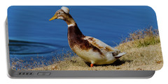 The Duck With The Pillbox Hat Portable Battery Charger