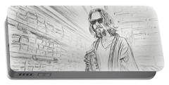 The Dude Abides Portable Battery Charger