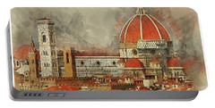 The Duomo Florence Portable Battery Charger