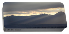 Portable Battery Charger featuring the photograph The Dying Of The Day by Brian Boyle
