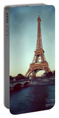The Eifeltower Portable Battery Charger by Hannes Cmarits