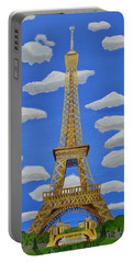 The Eiffel Tower  Portable Battery Charger by Magdalena Frohnsdorff