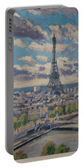 The Eiffel Tower Paris Portable Battery Charger