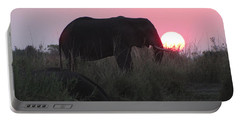The Elephant And The Sun Portable Battery Charger