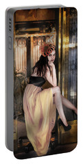 The Elevator Girl Portable Battery Charger