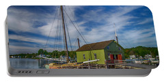 The Emma C. Berry, Mystic Seaport Museum Portable Battery Charger