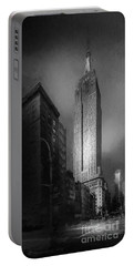 Portable Battery Charger featuring the photograph The Empire State Ch by Marvin Spates