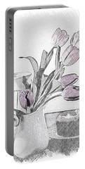 The Empty Vase Portable Battery Charger