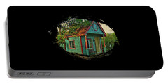 The Enchanted Garden Shed Portable Battery Charger by Thom Zehrfeld