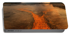 The Enchantment Of Grand Prismatic Spring Portable Battery Charger