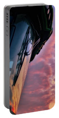 Portable Battery Charger featuring the photograph The End Of A Long Day by Mark Dodd