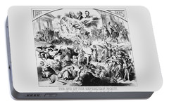 The End Of The Republican Party Portable Battery Charger by War Is Hell Store