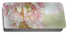 Portable Battery Charger featuring the photograph The Essence Of Springtime  by Connie Handscomb