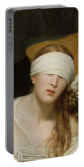 The Execution Of Lady Jane Grey Portable Battery Charger by Hippolyte Delaroche