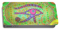 The Eye Of Ra By Mb Portable Battery Charger