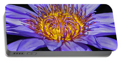 The Eye Of The Water Lily Portable Battery Charger