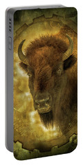 The Face Of Tatanka Portable Battery Charger