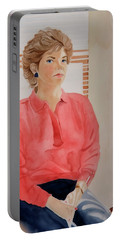 The Face Series - Pamela Portable Battery Charger