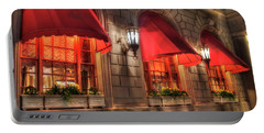 Portable Battery Charger featuring the photograph The Fairmont Copley Plaza Hotel - Boston by Joann Vitali