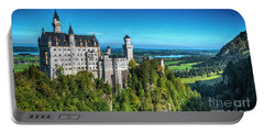 Portable Battery Charger featuring the photograph The Fairy Tale Castle by Pravine Chester