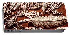 The Fall Collection Portable Battery Charger