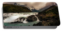 The Falls Portable Battery Charger by Andrew Matwijec
