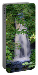 Portable Battery Charger featuring the photograph The Falls At Patie's Mill by RKAB Works