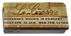 The Famous Le Colisee Cinema In Beirut Portable Battery Charger