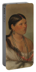 The Female Eagle, Shawano, 1830 Portable Battery Charger