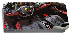 The Ferrari 488 2016 Portable Battery Charger