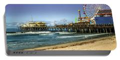 The Ferris Wheel - Santa Monica Pier Portable Battery Charger