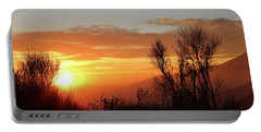 The Fire Of Sunset Portable Battery Charger