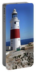 The First And Last Lighthouse On The Continent Of Europe Portable Battery Charger