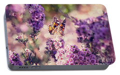 Portable Battery Charger featuring the photograph The First Day Of Summer by Linda Lees
