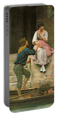 The Fishermans Wooing From The Pears Annual Christmas Portable Battery Charger