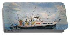 The Fishing Charter - Cape Cod Bay Portable Battery Charger