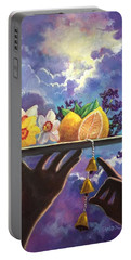 The Five Senses Portable Battery Charger by Randy Burns