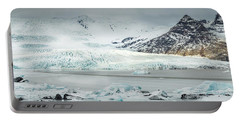 The Fjallajokull Glacier And Ice Lagoon. Portable Battery Charger