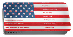 The Flag Portable Battery Charger