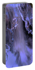 Portable Battery Charger featuring the photograph The Flow Of Winter-2 by Sean Sarsfield
