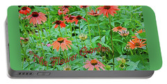 The Flower Garden Portable Battery Charger