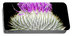 The Flower Of Scotland Portable Battery Charger