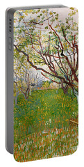 The Flowering Orchard, 1888 Portable Battery Charger